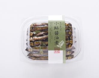 木の芽入小鮎醤油煮